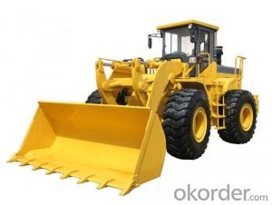 Wheel Loader W136 1.8m3 Bucket Joystick Control 3Ton