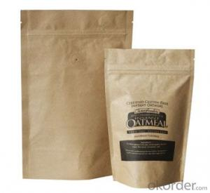 Kraft Paper Laminated with Film for Coffee Packing with Window