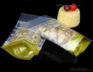 Stand Up Pouch Packing Bag with Bottom Gusset for Food Packing