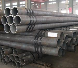 Carbon Seamless Steel Pipe Of ASTM A53  For Steel Structure Usage Hot Sale
