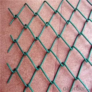 Chain Link Wire Mesh Fence PVC Fence Hot Seller 50 x 50 x 3.15