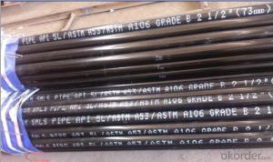 Carbon Steel Seamless Steel Pipe 2''-24'' Best Quality