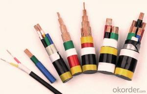 Copper Conductor XLPE Insulated Steel Wire Armored Electric Cable