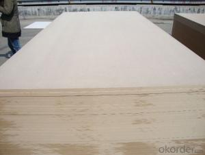 Plain MDF Board 16mm Thickness Light Color