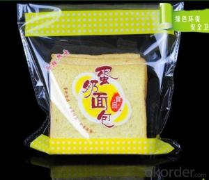 BOPP Printed Self-adhesive bag for Bread Packing