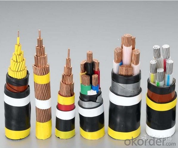 Copper conductor PVC insulated and sheath electric cable
