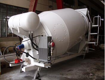 6 Cubic Meters  Concrete Mixer Truck Drum