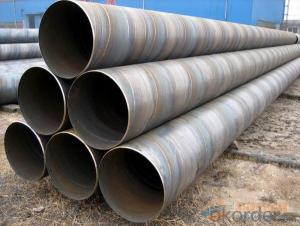 Welded  steel  tube  production  serious