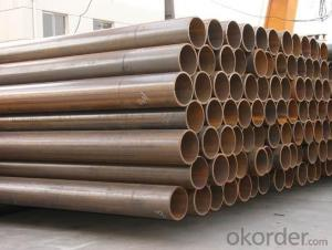 Steel Pipe -- Welding Steel Tube ERW Factory