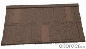 Factory Direct Metal Glazed Stone Coated Metal Roofing Tile with 0.4mm Thickness