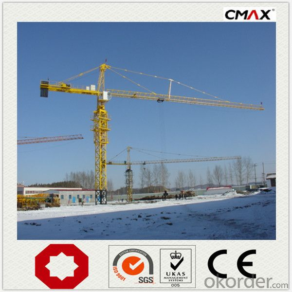 Tower Crane TC6016 heavy machinery in china