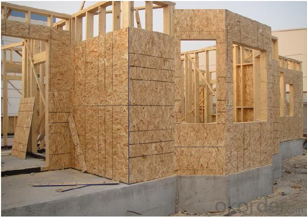 High Quality OSB3 Board For Decoration Use
