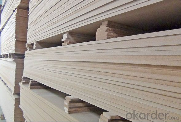 Plain  Thick MDF Board E2 Grade Good sanding Light Color