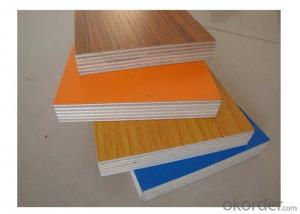 Solid Color Melamine Faced MDF for Furniture