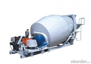 Mini CS4/6-R  Concrete Mixer Truck Tank