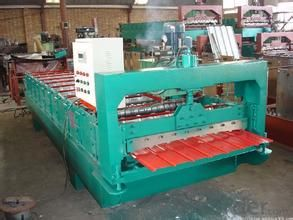 Roof Color Steel Tile Roll Forming Machine