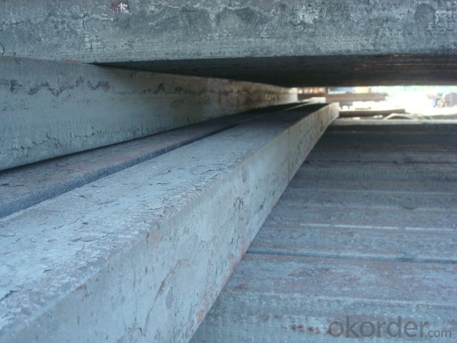 Blast furnace billet steel for size 50mm-180mm