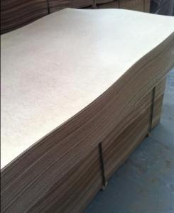 Plain Hard board Light Color 3mm Thickness High Density of 850kgs/m3