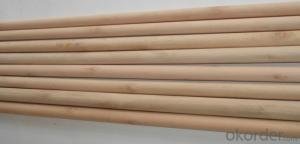 Wooden Stick Handle Made of Eucalyptus Material For Cleaning Tools