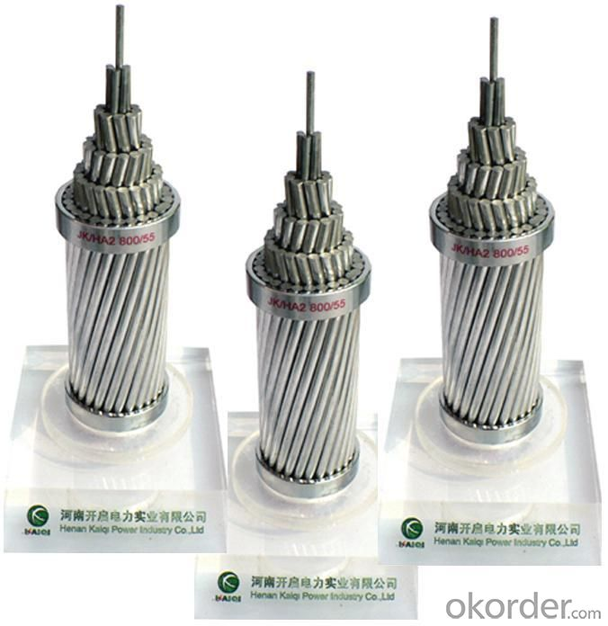 Bare conductors AAC, AAAC, ACSR cable acsr conductor
