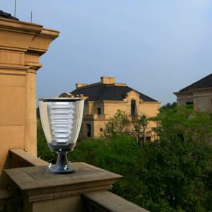 Solar Garden Pillar light ESL-15 with Energy Saving