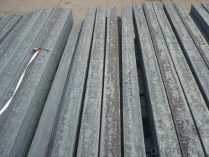 Steel Billets Manufactured by Continue Casting