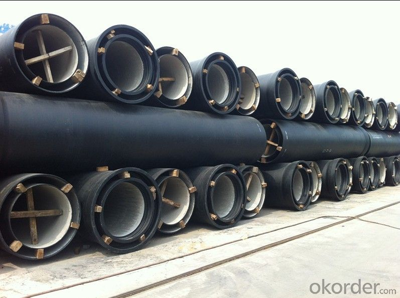 Ductile Iron Pipe of China DN200-DN800 EN598