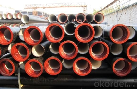 Ductile Iron Pipe of China DN300-DN900 EN598 C40 On Sale