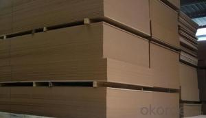Pine Wood as Raw Materials MDF Board Medium Density Fibre Board