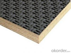 Black Shuttering Film Faced Plywood Wire Mesh Film