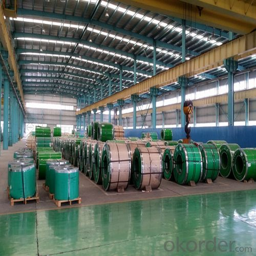 Stainless Steel Coil in Hot Rolled Cold Rolled BA 0.5mm