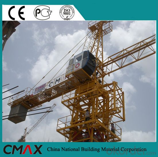 Topkit Cranes Rental Tower Crane Specification