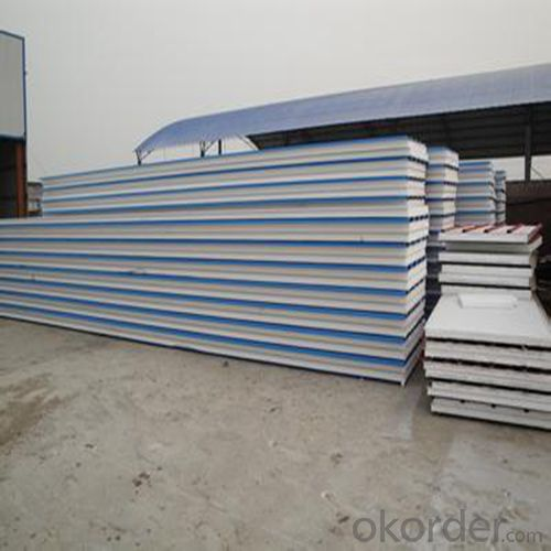 Corrugated Steel Roofing Sandwich Panels EPS