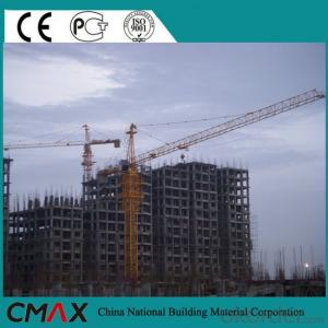 TC6016 10T CE ISO Certificate Topkit/lLuffing/Flattop/Inner Climbing Used Tower Crane Price for Sale