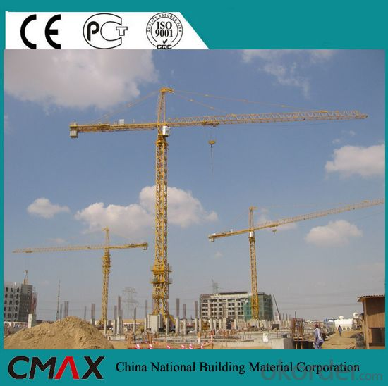 Topkit/Topless Tower Crane Free Standing Height 50.5M