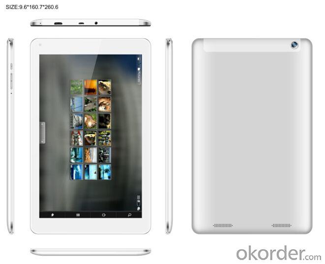 Intel® Atom™ Sofia 3G-R 64bit Quad-core Tablet PC 7 inch  0.3+2.0MP Camera 1+8GB