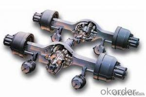 ORGINAL FROUNT AXLE AND REAR AXLE FOR HOWO TRUCK