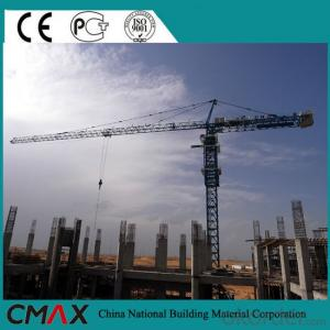 TC4021 8T Luffing Tower Crane with CE ISO Certificate