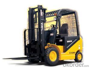 Forklift Truck 10ton Diesel  with Isuzu 6bg1 Diesel Engine
