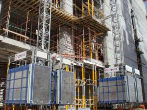 Building Construction Elevator ISO GOST Passed SC Series