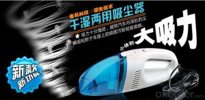 Best quality car vacuum cleaner/car hoover / Automatic Robot Clneaner