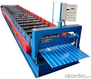 Roofing Roll Forming Machine EMM35-207-1035