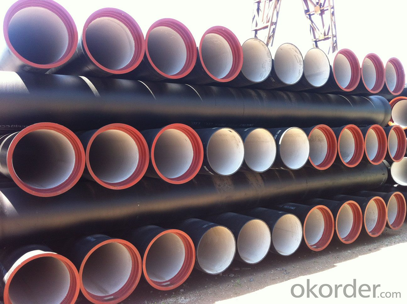Ductile Iron Pipe of China DN150-DN1000 EN545/EN598/ISO2531 High Quality
