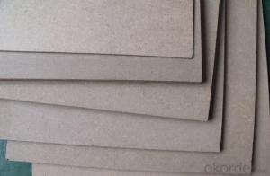 Plain MDF Board E2 Glue Size 1220 X 2440MM