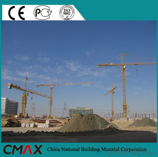 Rental Yellow/Blue Appearance Cheap Price of Tower Crane