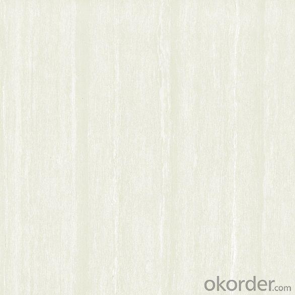 Polished Porcelain Tile Natural Stone Serie White Color NS6001