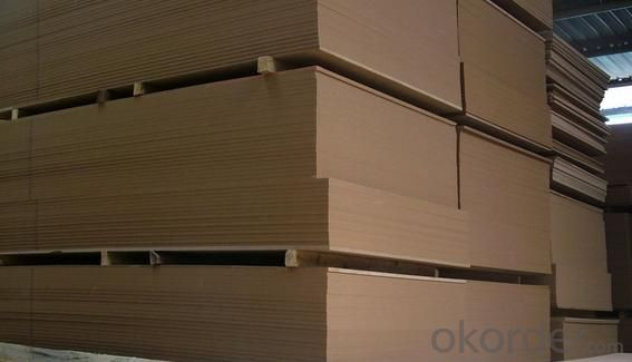 Plain MDF Boards 17mm Thickness Light Color