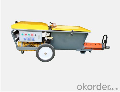 High-Performance Mortar Plastering Machine for Sale