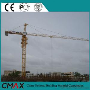 TC6016 with CE ISO Certificate 10T Types of Tower Cranes for Sale