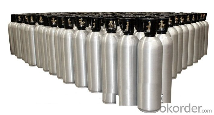 Beverage Cylinders(CO2)  Materia l: Aluminium
